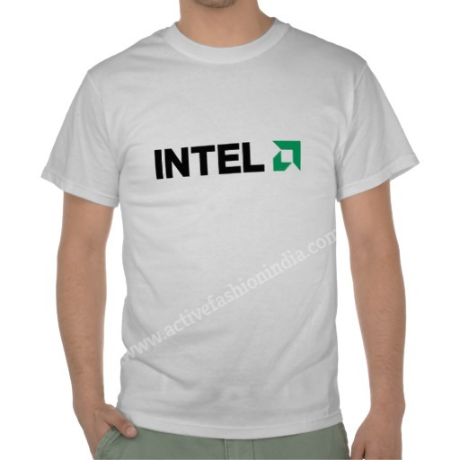 promotional intel t shirt